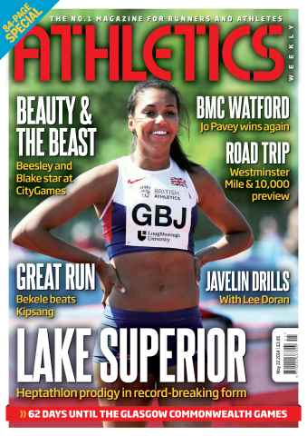Athletics Weekly issue 22052014