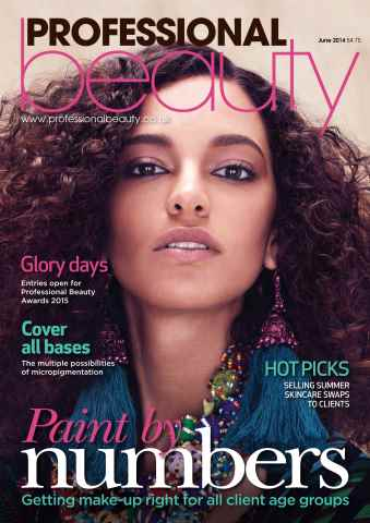 Professional Beauty issue Professional Beauty June 2014