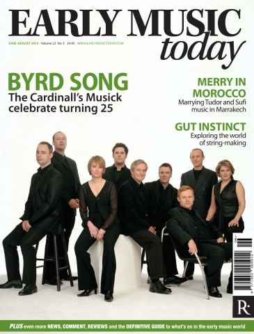 Early Music Today issue June - Aug 2014