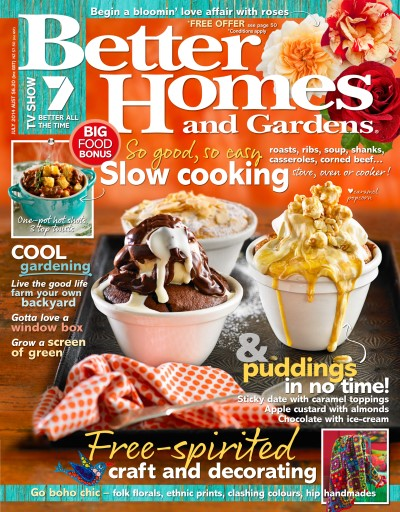 Better Homes and Gardens Australia Magazine July 2014