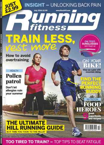Running Fitness issue No.174 Train Less, Rest More