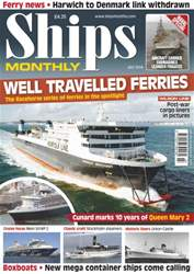 No.595 Well Travelled Ferries issue No.595 Well Travelled Ferries