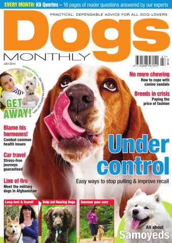 Dogs Monthly issue Jul-14