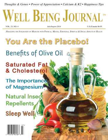 Well Being Journal issue July/August 2014