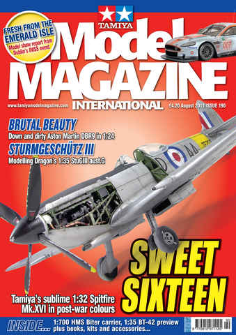 Tamiya Model Magazine issue 190
