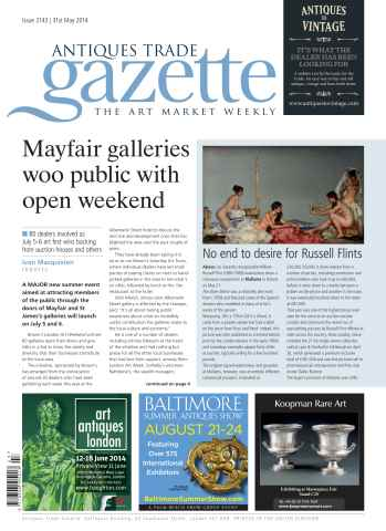 Antiques Trade Gazette issue ATG Issue 2143