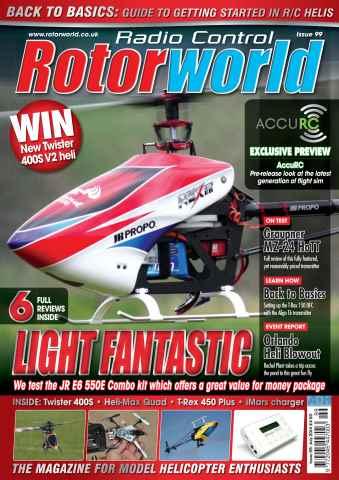 Radio Control Rotor World issue Jul-14