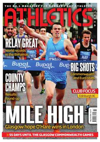 Athletics Weekly issue 29/05/2014