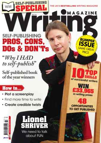 Writing Magazine issue Self-publishing Special