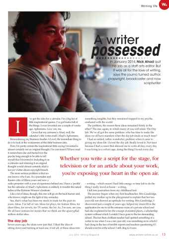 Writing Magazine Preview 13