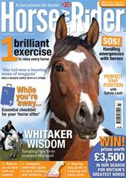 Horse&Rider Magazine - UK equestrian magazine for Horse and Rider issue Horse&Rider Magazine – July 2014