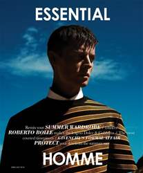 Essential Homme issue June-July 2014
