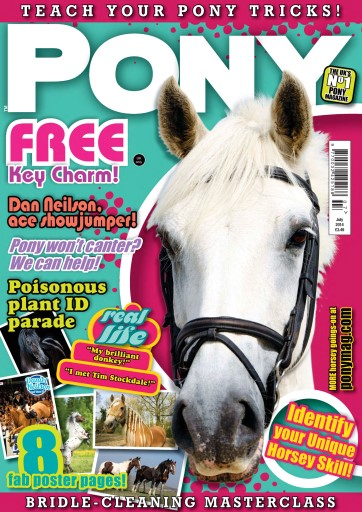 Pony Magazine issue PONY magazine - July 2014
