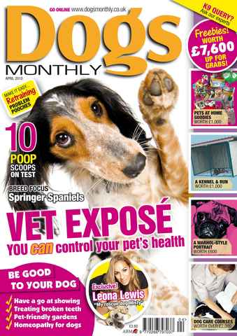 Dogs Monthly issue April 2010