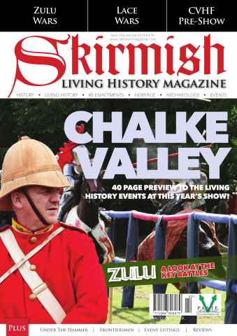 Skirmish Living History issue Skirmish Magazine Issue 106