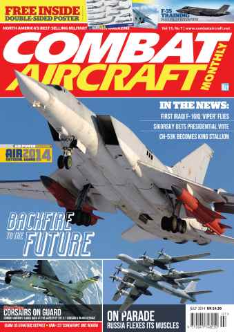 Combat Aircraft issue July 2014