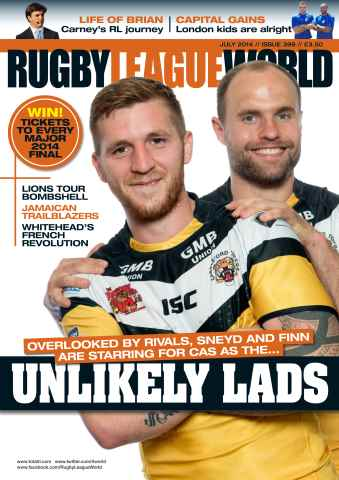 Rugby League World issue 399