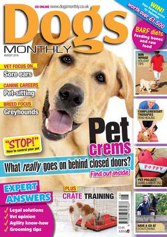 Dogs Monthly issue August 2010