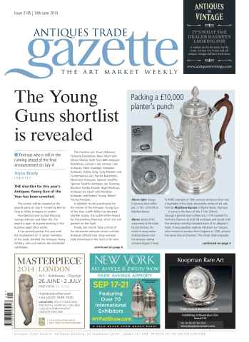 Antiques Trade Gazette issue ATG Issue 2145