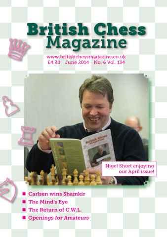 British Chess Magazine issue June 2014