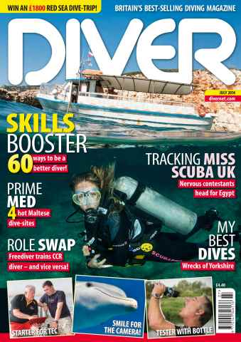 DIVER issue JULY 2014