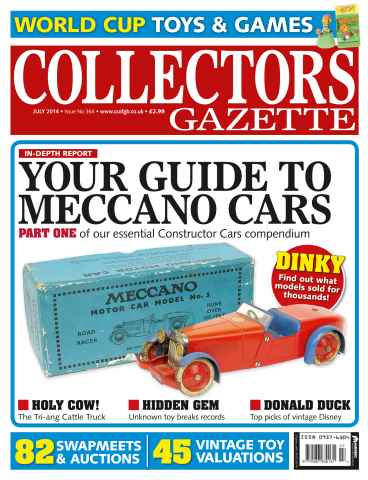 Collectors Gazette issue July 2014