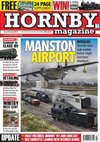 Hornby Magazine issue July 2014