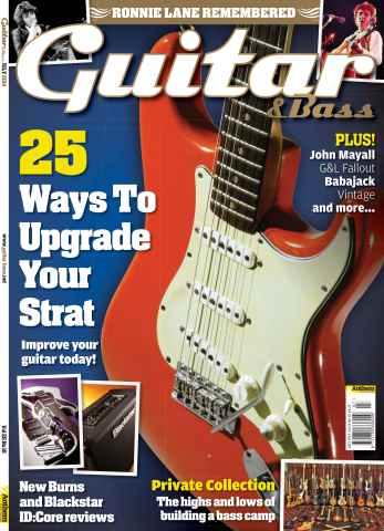 Guitar & Bass Magazine issue Jul-14