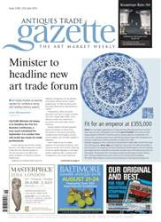 Antiques Trade Gazette issue ATG Issue 2146