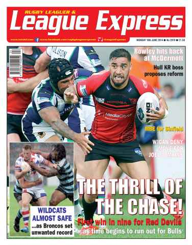 League Express issue 2919