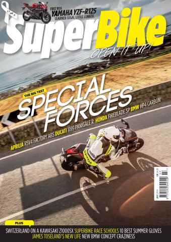 Superbike Magazine issue July 2014