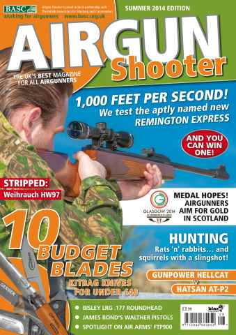 Airgun Shooter issue Summer 2014