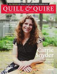 Quill & Quire issue JULY AUGUST 2014