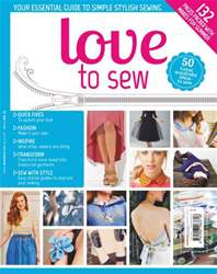 Love to Sew issue Love to Sew