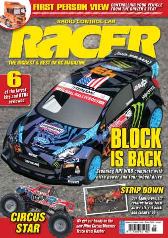 Radio Control Car Racer issue Aug-14