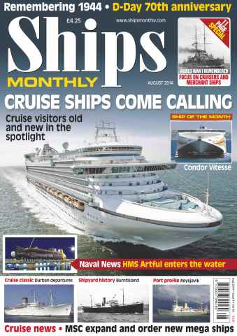 Ships Monthly issue No.596 Cruise Ships Come Calling