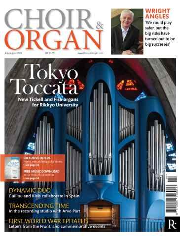 Choir & Organ issue July - Aug 2014