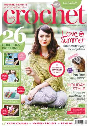 Inside Crochet issue Issue 55