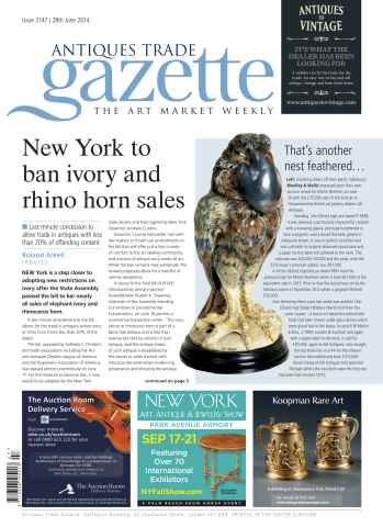 Antiques Trade Gazette issue ATG Issue 2147