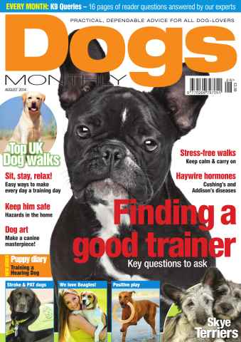 Dogs Monthly issue Aug-14