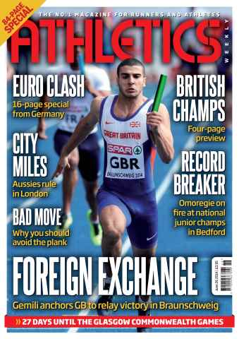 Athletics Weekly issue 26/06/2014