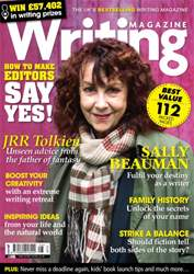 Writing Magazine issue August 2014