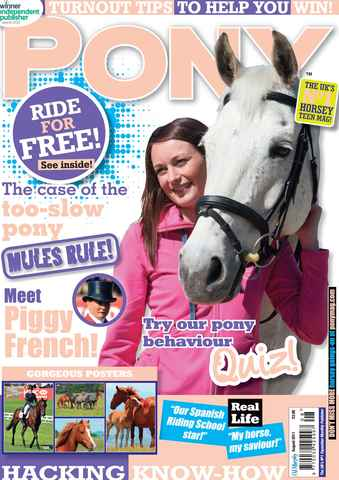 Pony Magazine issue August 2011