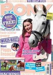 Pony Magazine issue August 2011