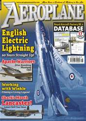Aeroplane issue No.496 English Electric Lightning
