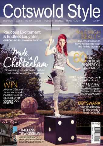 Cotswold Style issue Cotswold Style July 2014