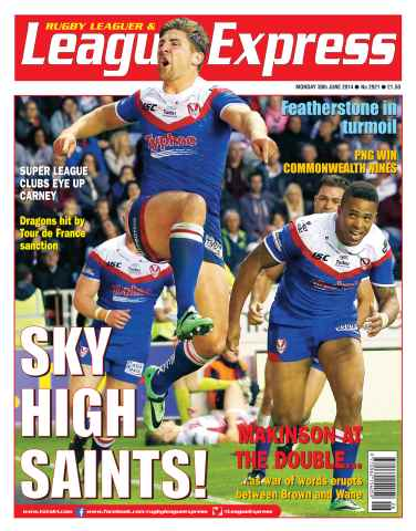 League Express issue 2921