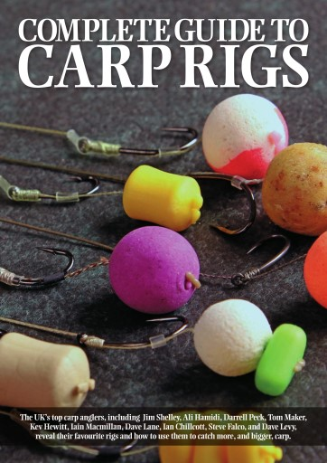 Fishing reads magazine complete guide to carp rigs for Best fishing books
