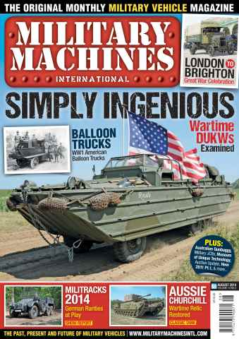 Military Machines International issue August 2014