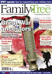 Family Tree issue Family Tree August 2014